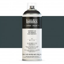 Liquitex : Professional : Spray Paint : 400ml : Transparent Black : Ship By Road Only