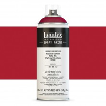 Liquitex : Professional : Spray Paint : 400ml : Cadmium Red Deep Hue : By Road Parcel Only