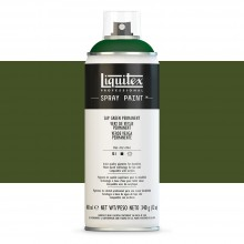 Liquitex : Professional : Spray Paint : 400ml : Sap Green Permanent : Ship By Road Only
