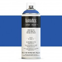 Liquitex : Professional : Spray Paint : 400ml : Cobalt Blue Hue : Ship By Road Only