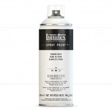 Liquitex : Professional : Spray Paint : 400ml : Titanium White : Ship By Road Only