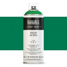 Liquitex : Professional : Spray Paint : 400ml : Emerald Green : By Road Parcel Only