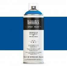Liquitex : Professional : Spray Paint : 400ml : Cerulean Blue Hue : By Road Parcel Only
