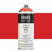 Liquitex : Professional : Spray Paint : 400ml : Cadmium Red Light Hue : By Road Parcel Only