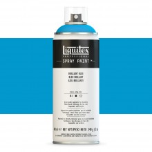 Liquitex : Professional : Spray Paint : 400ml : Brilliant Blue : Ship By Road Only