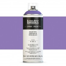 Liquitex : Professional : Spray Paint : 400ml : Brilliant Purple : By Road Parcel Only