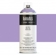 Liquitex : Professional : Spray Paint : 400ml : Light Violet : Ship By Road Only