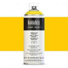 Liquitex : Professional : Spray Paint : 400ml : Cadmium Yellow Medium Hue : Ship By Road Only