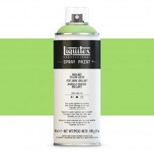 Liquitex : Professional : Spray Paint : 400ml : Brilliant Yellow Green : By Road Parcel Only