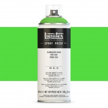 Liquitex : Professional : Spray Paint : 400ml : Fluorescent Green : Ship By Road Only