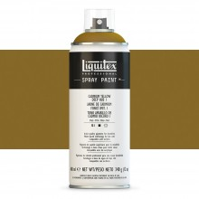 Liquitex : Professional : Spray Paint : 400ml : Cadmium Yellow Deep Hue 1 : Ship By Road Only