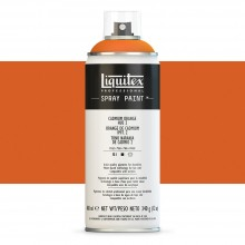 Liquitex : Professional : Spray Paint : 400ml : Cadmium Orange Hue 2 : By Road Parcel Only