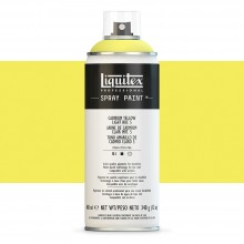Liquitex : Professional Spray Paint : 400ml : Cadmium Yellow Light Hue 5 (Road Shipping Only)