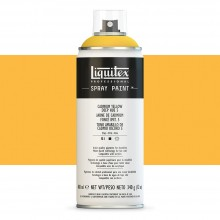 Liquitex : Professional Spray Paint : 400ml : Cadmium Yellow Deep Hue 5 (Road Shipping Only)