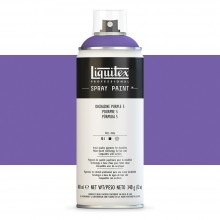 Liquitex : Professional : Spray Paint : 400ml : Dioxazine Purple 5 (By Road Parcel Only)