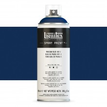 Liquitex : Professional : Spray Paint : 400ml : Prussian Blue Hue 5 : By Road Parcel Only
