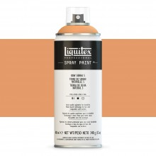 Liquitex : Professional : Spray Paint : 400ml : Raw Sienna 5 : By Road Parcel Only
