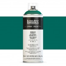Liquitex : Professional : Spray Paint : 400ml : Viridian Hue Permanent 5 : Ship By Road Only
