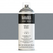 Liquitex : Professional : Spray Paint : 400ml : Neutral Grey 5 : By Road Parcel Only