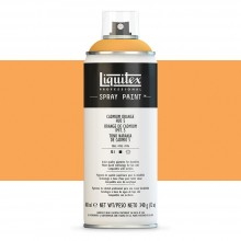 Liquitex : Professional : Spray Paint : 400ml : Cadmium Orange Hue 5 : Ship By Road Only