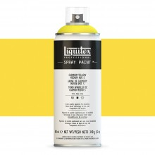 Liquitex : Professional : Spray Paint : 400ml : Cadmium Yellow Medium Hue 5 (By Road Parcel Only)