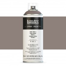 Liquitex : Professional : Spray Paint : 400ml : Burnt Umber 6 : Ship By Road Only