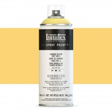 Liquitex : Professional : Spray Paint : 400ml : Cadmium Yellow Deep Hue 6 : By Road Parcel Only
