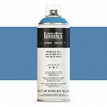 Liquitex : Professional : Spray Paint : 400ml : Prussian Blue Hue 6 : Ship By Road Only
