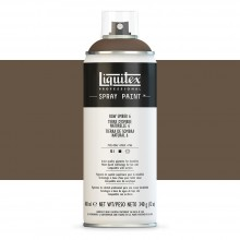 Liquitex : Professional : Spray Paint : 400ml : Raw Umber 6 (By Road Parcel Only)