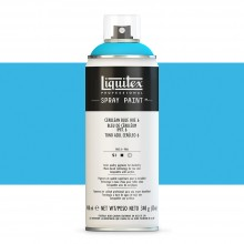Liquitex : Professional : Spray Paint : 400ml : Cerulean Blue Hue 6 : Ship By Road Only