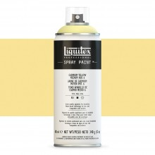 Liquitex : Professional : Spray Paint : 400ml : Cadmium Yellow Medium Hue 6 (By Road Parcel Only)