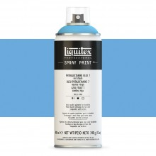 Liquitex : Professional : Spray Paint : 400ml : Phthalo Blue 7 (Red Shade) (By Road Parcel Only)