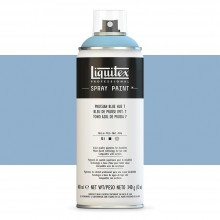 Liquitex : Professional : Spray Paint : 400ml : Prussian Blue Hue 7 : Ship By Road Only