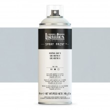 Liquitex : Professional : Spray Paint : 400ml : Neutral Grey 8 : Ship By Road Only