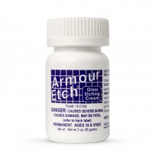 Armour Etch : Glass Etching Cream : 3 oz/85g (By Road Parcel Only)