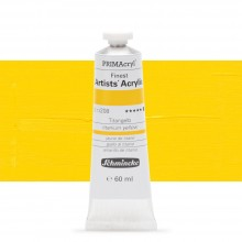 Schmincke : Primacryl Acrylic Paint : 60ml : Titanium Yellow