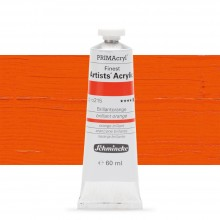 Schmincke : Primacryl Acrylic Paint : 60ml : Brilliant Orange