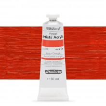 Schmincke : Primacryl Acrylic Paint : 60ml : Translucent Orange