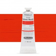 Schmincke : Primacryl Acrylic Paint : 60ml : Cadmium Red Light