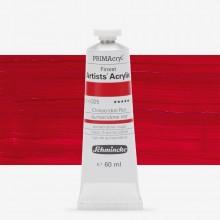 Schmincke : Primacryl Acrylic Paint : 60ml : Quinacridone Red