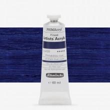 Schmincke : Primacryl Acrylic Paint : 60ml : Phthalo Blue Cyan
