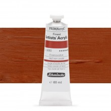 Schmincke : Primacryl Acrylic Paint : 60ml : Red Iron Oxide