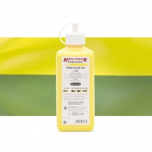 Schmincke : Aero Color Finest Acrylic Ink : 250ml : Lemon Yellow