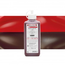 Schmincke : Aero Color Finest Acrylic Ink : 250ml : Red Madder Dark