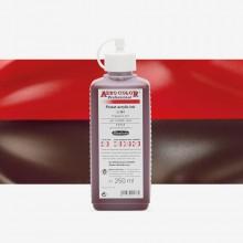 Schmincke : Aero Color Finest Acrylic Ink : 250ml : Red Madder Dark