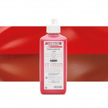 Schmincke : Aero Color Finest Acrylic Ink : 250ml : Carmine