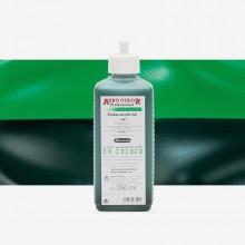 Schmincke : Aero Color Finest Acrylic Ink : 250ml : Brilliant Green