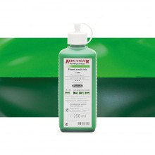 Schmincke : Aero Color Finest Acrylic Ink : 250ml : Permanent Green