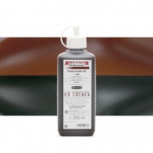 Schmincke : Aero Color Finest Acrylic Ink : 250ml : Brown Brazil