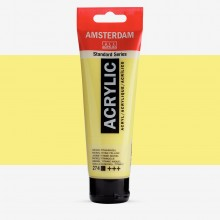 Talens : Amsterdam Standard : Acrylic Paint : 120ml : Nickel Titanium Yellow